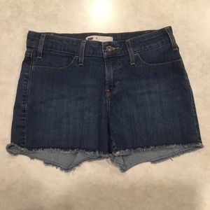 Levi's 550 Relaxed Blue Jean Denim Shorts